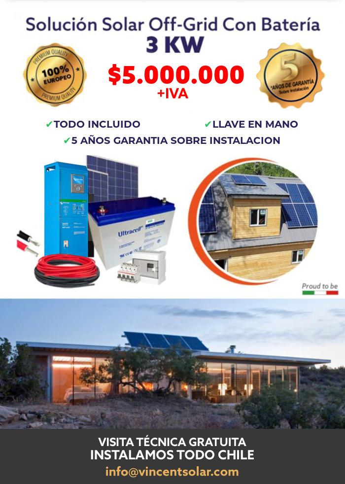 kit solar Kit Solar Offgrid 3KW
